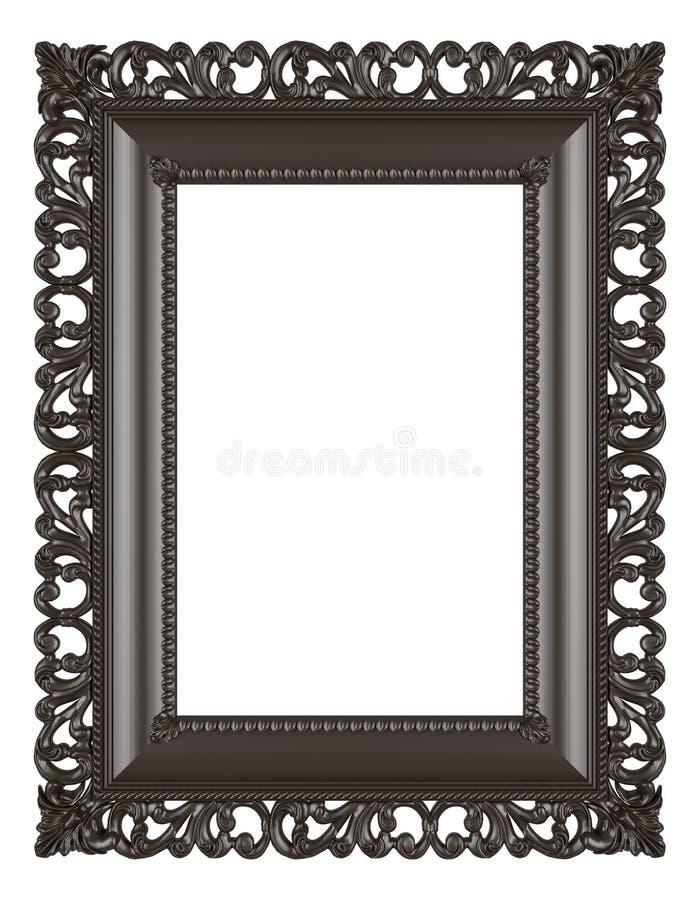 Struttura di legno isolata su fondo bianco fotografia stock libera da diritti