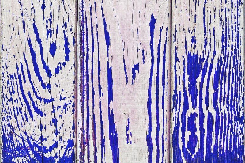 Struttura di legno di lerciume su colore blu fotografia stock libera da diritti