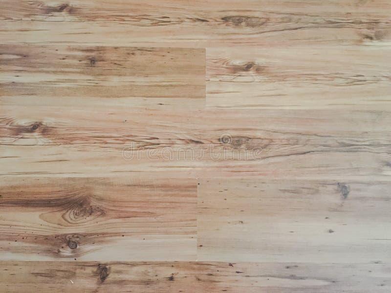 Struttura di legno morbida leggera della superficie del pavimento come fondo, parquet di legno Vista superiore lavata vecchio ler fotografia stock libera da diritti