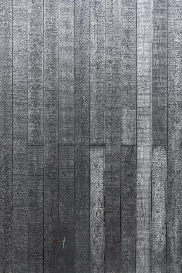 Struttura di legno naturale bruciata del pannello della plancia struttura di alta risoluzione/nera fondo/di legno fotografia stock
