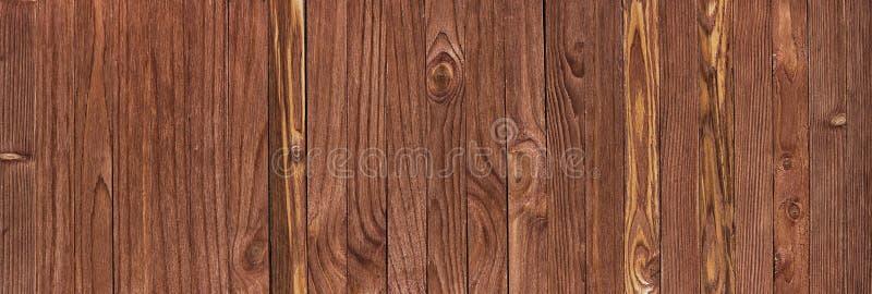 Struttura di legno naturale, tavola del fondo o pavimento di legno Panorama immagini stock