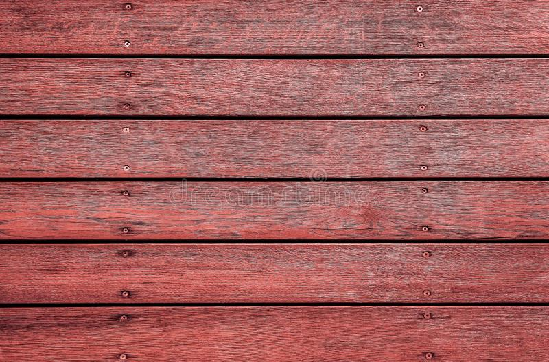 Struttura di legno orizzontale variopinta per fondo o il modello fotografie stock libere da diritti