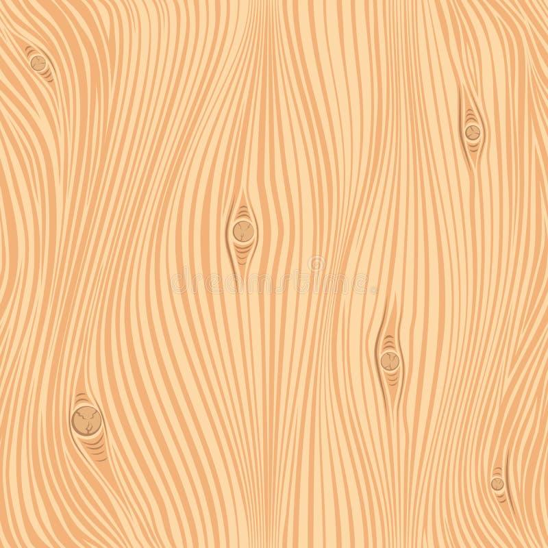 Struttura di legno senza cuciture di vettore royalty illustrazione gratis