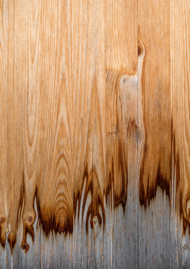 Struttura di legno sporca e parzialmente stagionata immagini stock