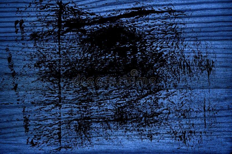 Struttura di legno ultra blu sporca di lerciume, superficie del tagliere per gli elementi di progettazione fotografia stock