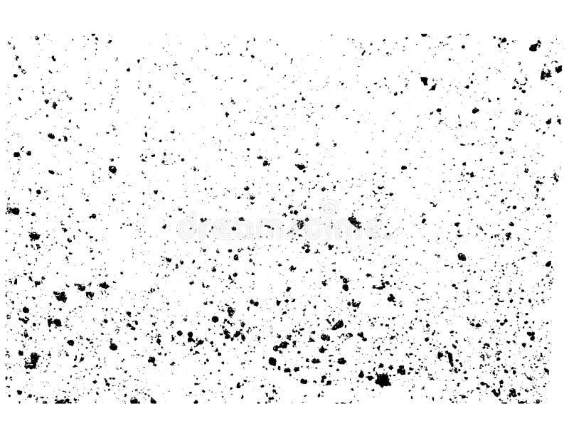 Struttura di lerciume afflitta estratto illustrazione vettoriale