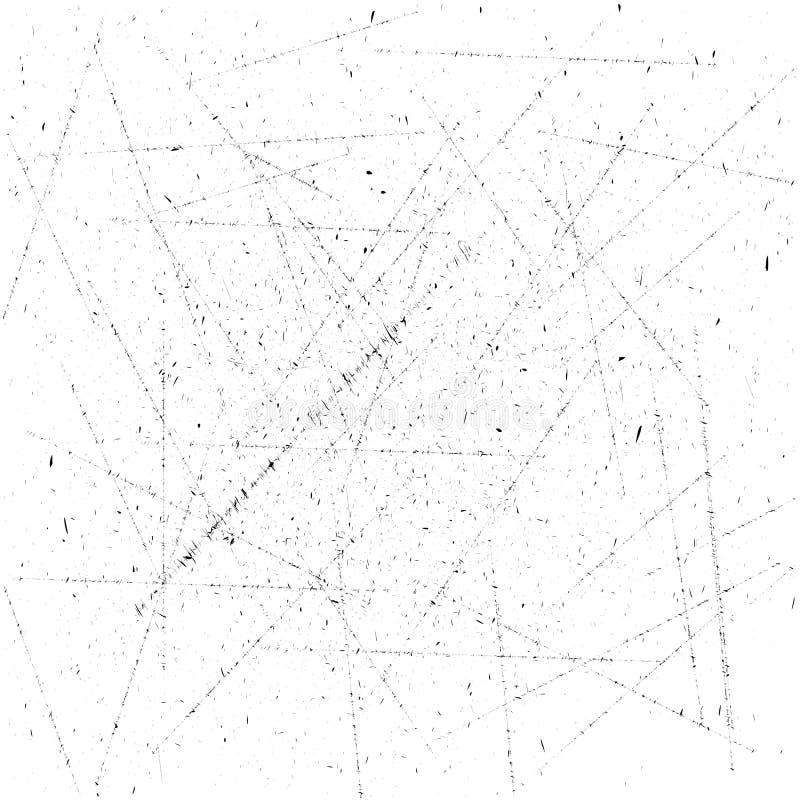 Struttura di lerciume con capacità della sovrapposizione Piccole particelle Illustrazione di vettore della polvere immagini stock