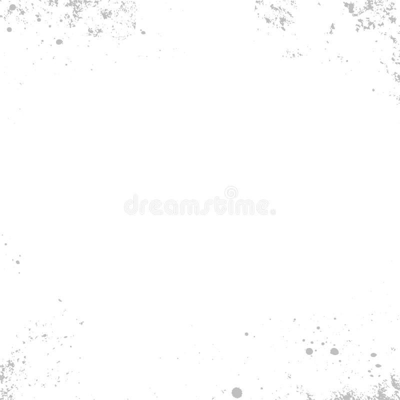 Struttura di lerciume di vettore Fondo granulare astratto, vecchia parete dipinta Illustrazione della sovrapposizione sopra quals royalty illustrazione gratis