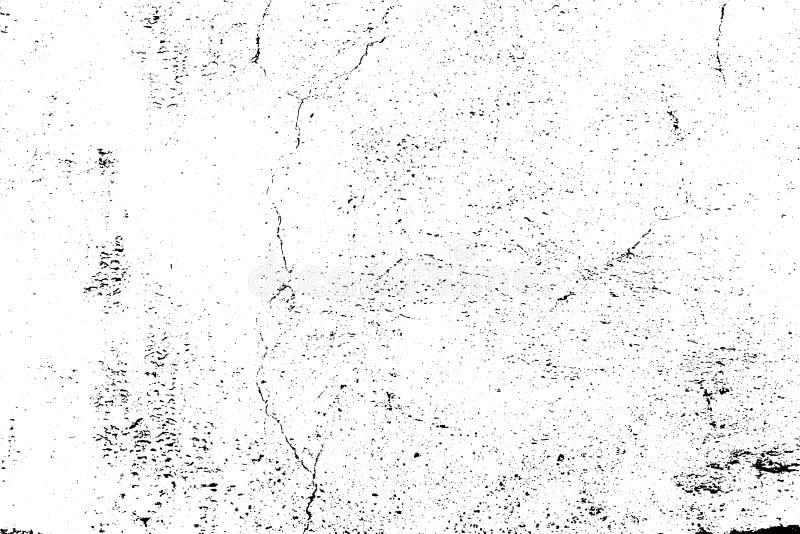 Struttura di lerciume di vettore, una parete dipinta incrinata sottragga la priorit? bassa illustrazione di stock