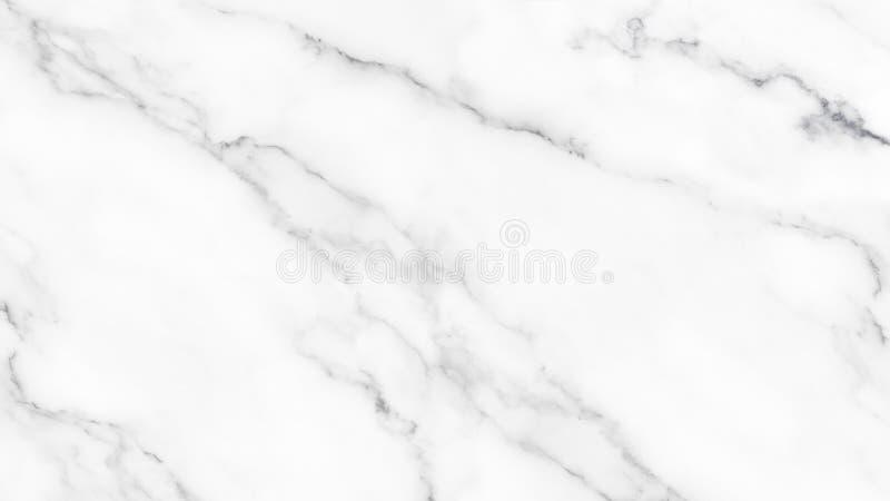 Struttura di marmo bianca con il modello naturale per fondo immagini stock
