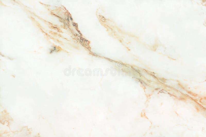 Struttura di marmo bianca dell'oro nel modello naturale con l'alta risoluzione Pavimento di pietra delle mattonelle immagine stock