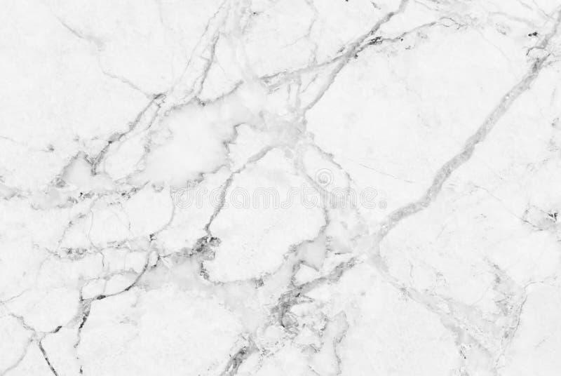 Struttura di marmo bianca, modello per il fondo lussuoso della carta da parati delle mattonelle della pelle immagini stock