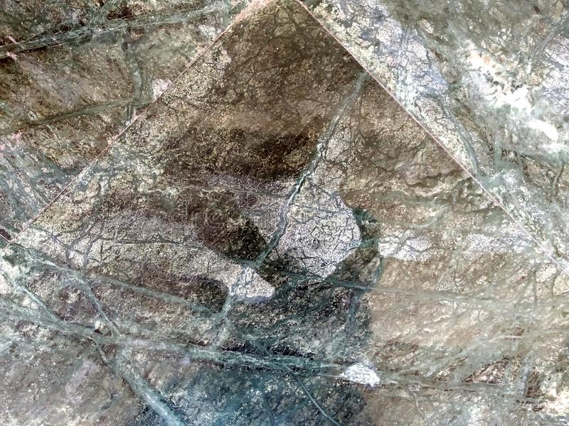 Struttura di marmo bianca nel modello naturale, pavimento di pietra bianco Decorativo, grigio fotografia stock libera da diritti