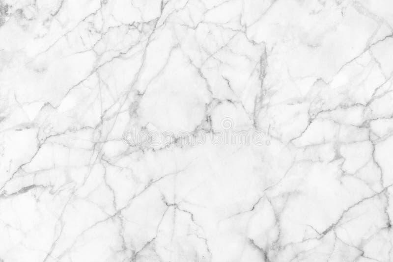 Struttura di marmo bianca per fondo e progettazione fotografie stock