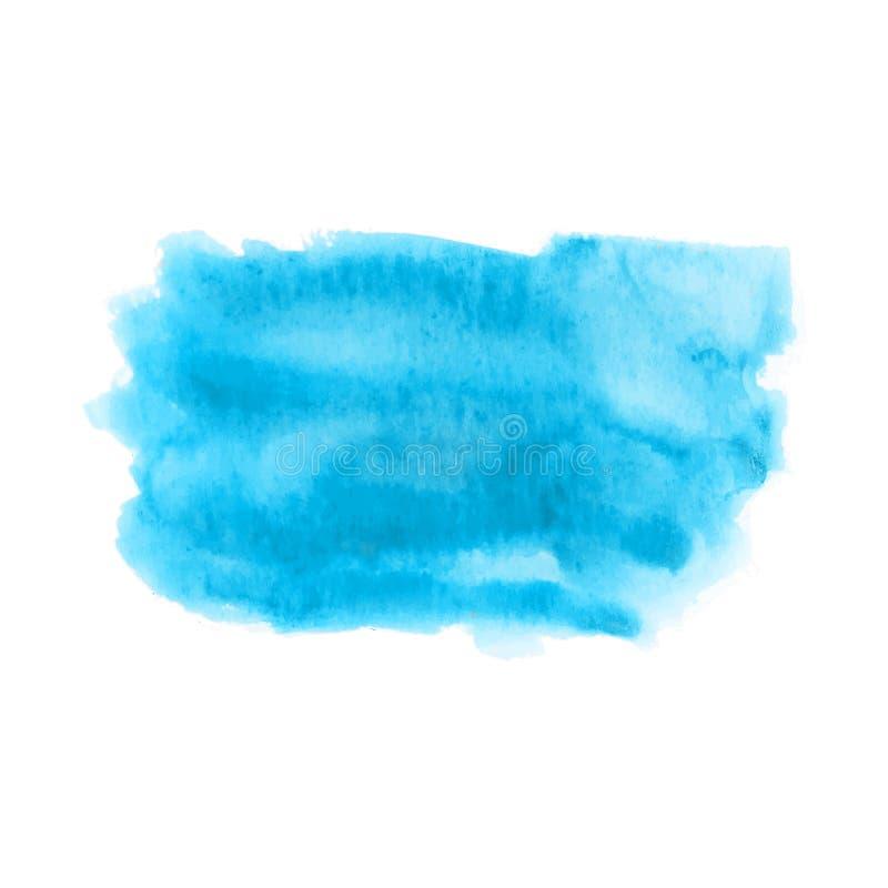 Struttura di marmo blu astratta sui precedenti bianchi, inchiostro di vettore, decorazione acrilica dell'acquerello Fondo per pro royalty illustrazione gratis