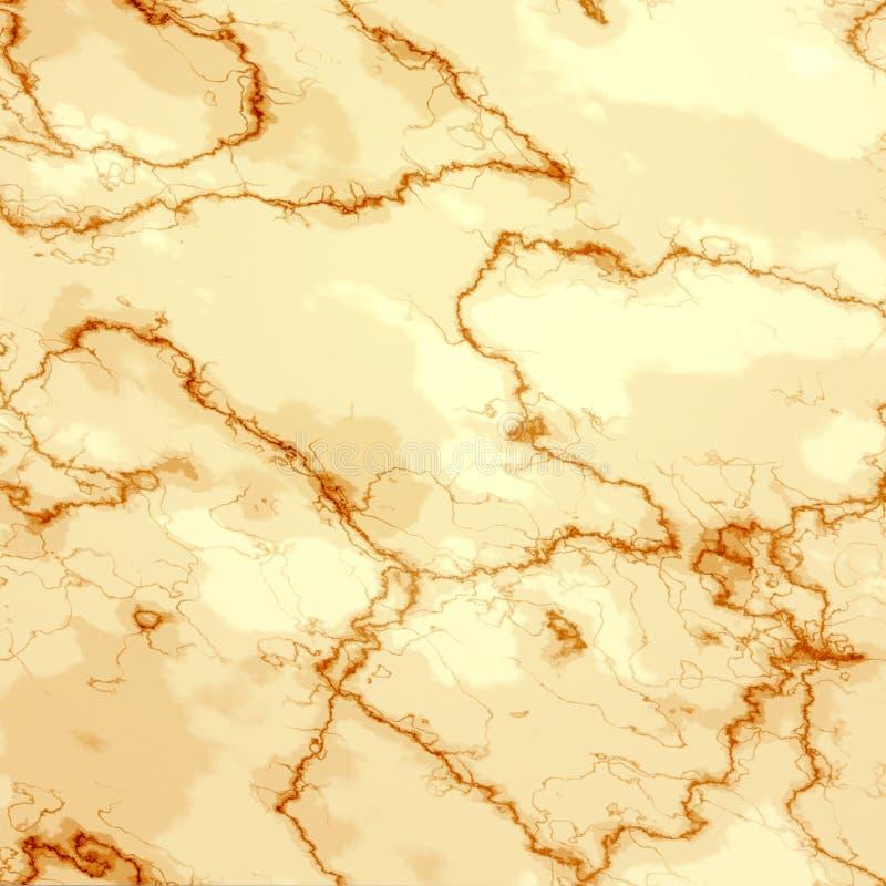 Struttura di marmo gialla del pavimento illustrazione di stock