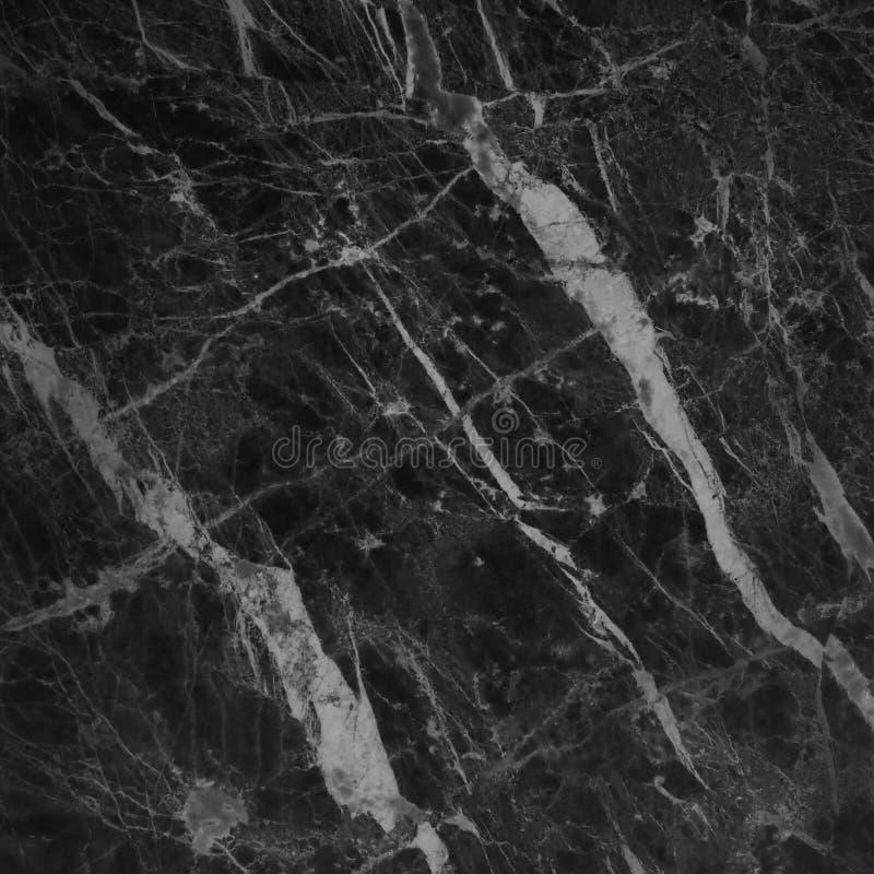 Struttura di marmo grigia nera nel modello naturale con l'alta risoluzione per l'opera d'arte di progettazione e del fondo Pavime fotografia stock