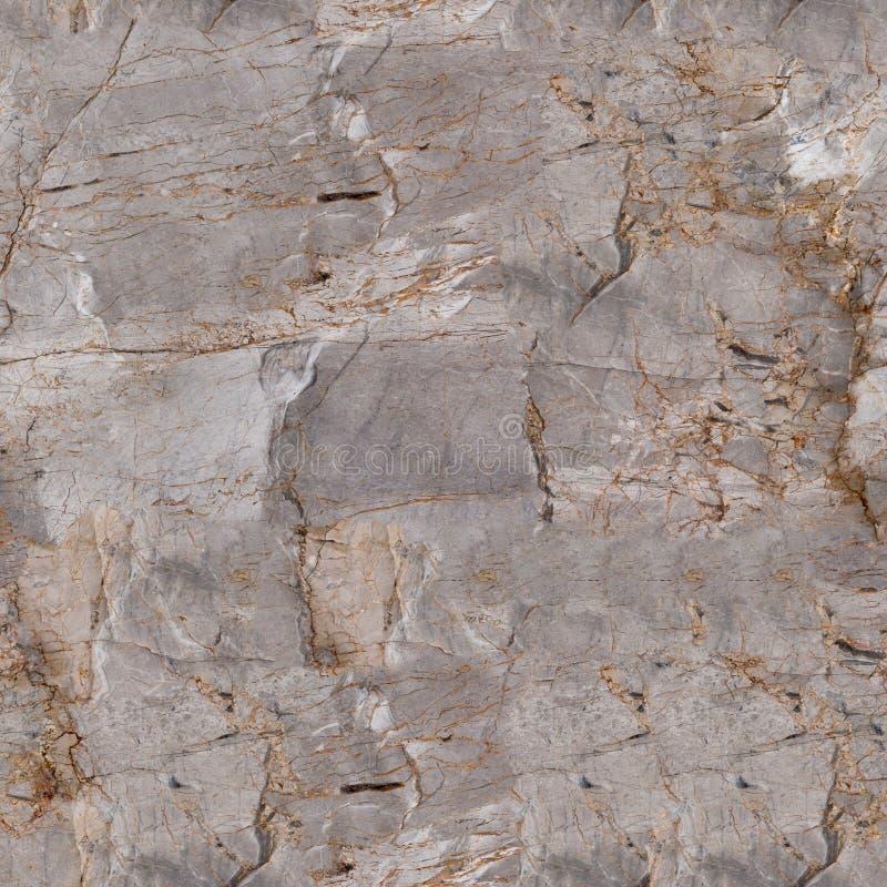 Struttura di marmo grigia di sollievo con ombra Fondo quadrato senza cuciture, mattonelle pronte fotografie stock