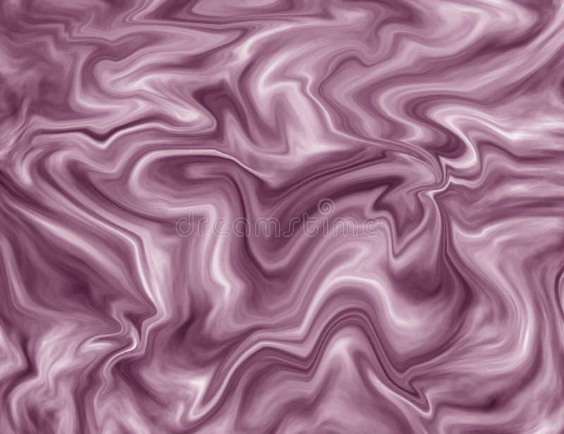 Struttura di marmo liquida di rosa Modello astratto della pittura dell'inchiostro Fondo d'avanguardia per la carta da parati, ale royalty illustrazione gratis