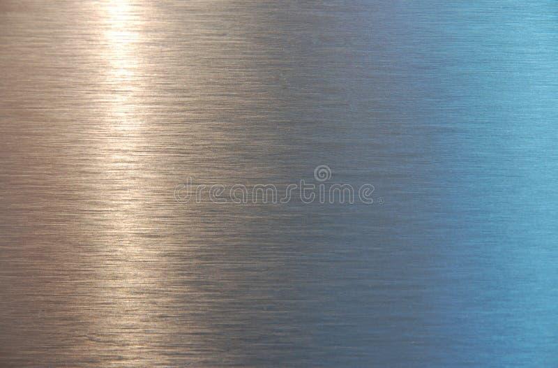 Struttura di piastra metallica fotografia stock