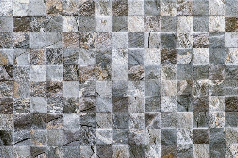 Struttura di pietra della parete di progettazione di Mosè delle mattonelle fotografia stock