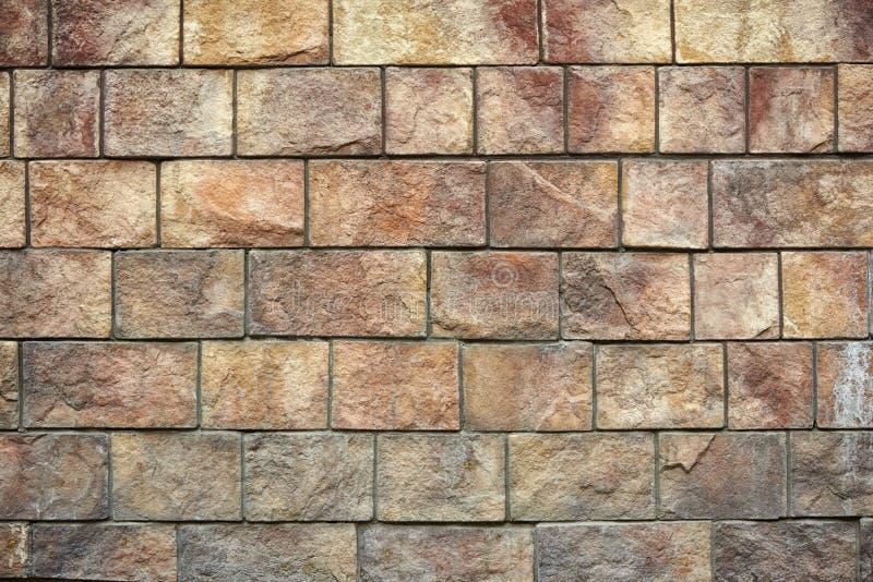 Struttura di pietra naturale del muro di mattoni fotografia stock