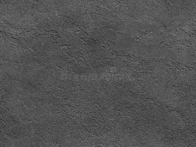 Struttura di pietra senza giunte Struttura di pietra senza cuciture del fondo veneziano grigio del gesso Struttura veneziana trad immagine stock libera da diritti