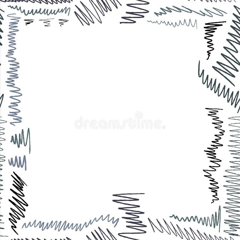 Struttura di scarabocchi illustrazione vettoriale