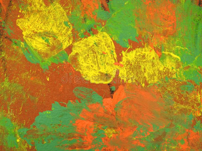 Struttura di superficie di carta dipinta variopinta immagine stock libera da diritti