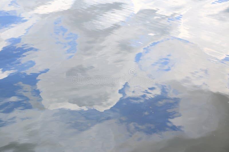 Struttura di superficie dell'acqua con le ondulazioni molli fotografie stock libere da diritti