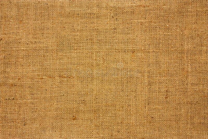 Struttura di tela di canapa marrone immagine stock