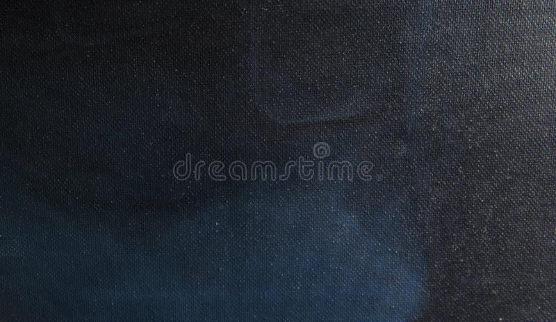 Struttura di tela dipinta blu scuro immagine stock libera da diritti