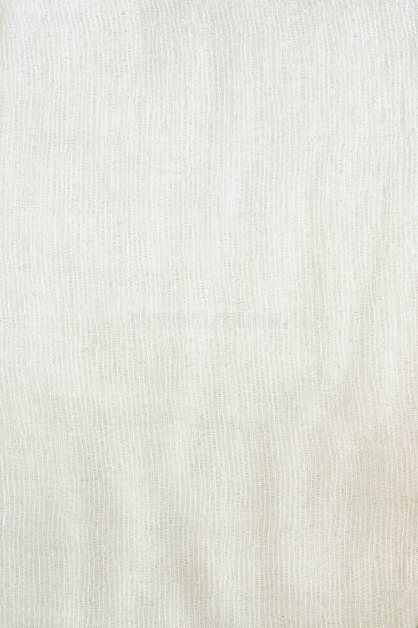 Struttura di tessuto da una garza fotografia stock
