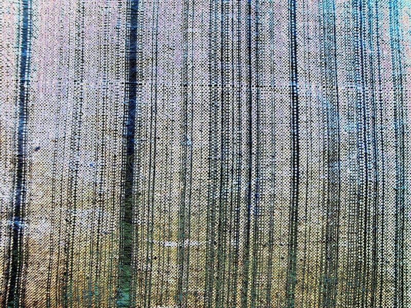 Struttura di tessuto grigio in banda bianca Neon della fabbrica dei vini fotografie stock