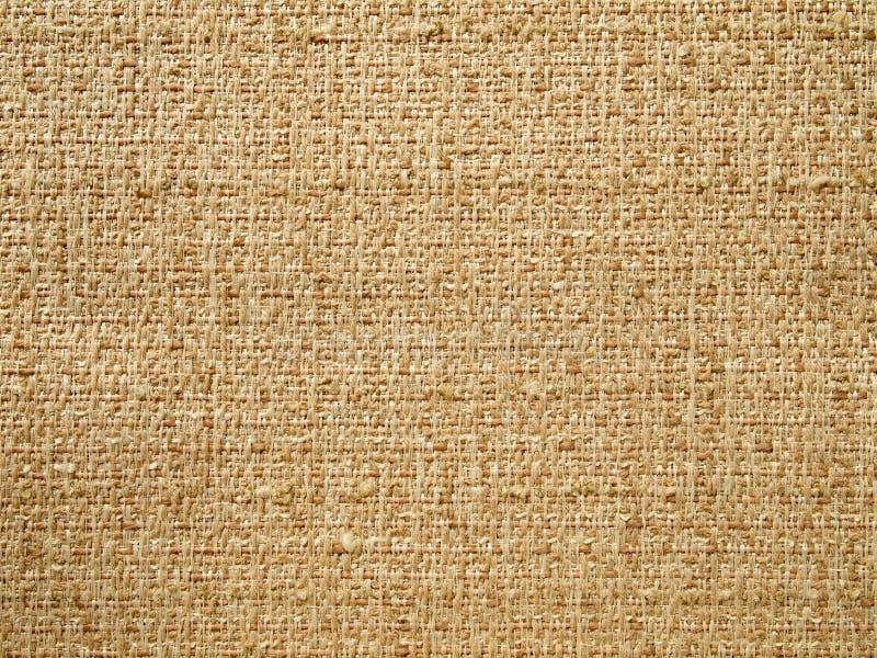Struttura di tessuto marrone immagini stock