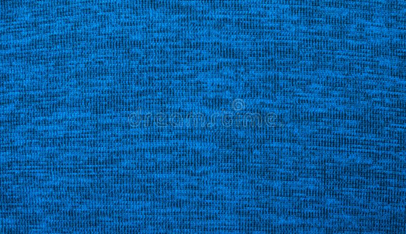 Struttura di tessuto Tessile blu immagine stock