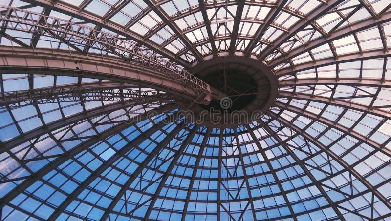 Struttura di tetto della cupola fotografia stock