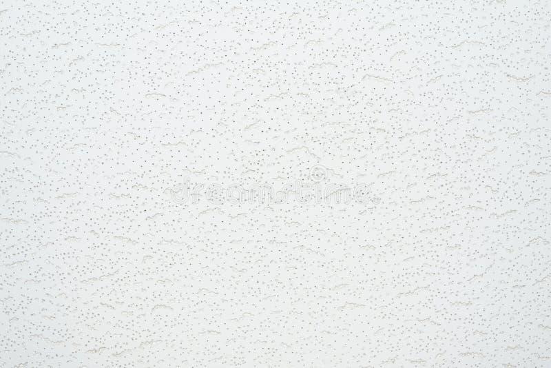 Struttura di un pendente delle mattonelle di sollievo o di un bordo bianco di un soffitto fotografia stock
