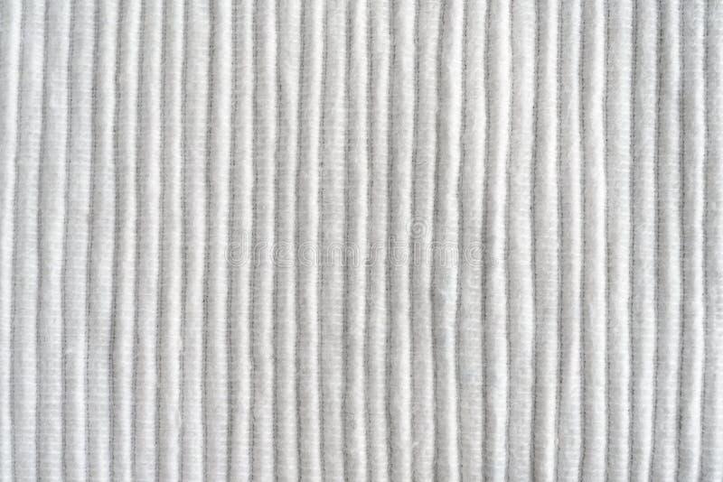 Struttura di un tovagliolo impressionante Fine del fondo del tessuto su MA fotografia stock