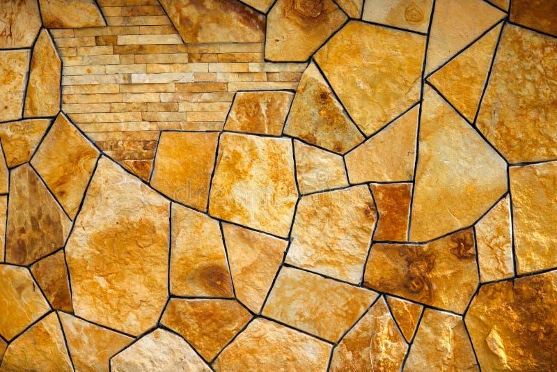 Struttura di una parete di pietra Vecchio fondo di struttura della parete di pietra del castello fotografie stock libere da diritti