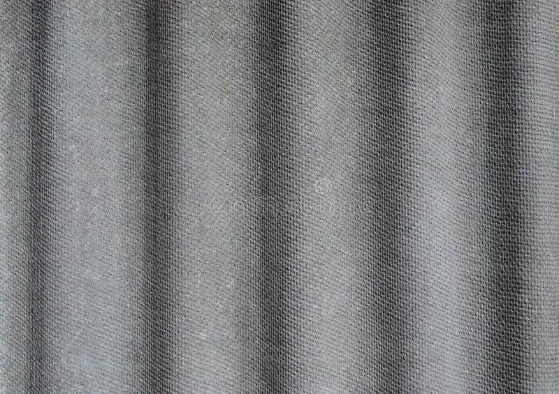 Struttura di vecchia ardesia di tetto grigia immagine stock