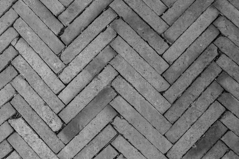 Struttura di vista superiore del blocco grigio in terra concreta del marciapiede immagini stock libere da diritti