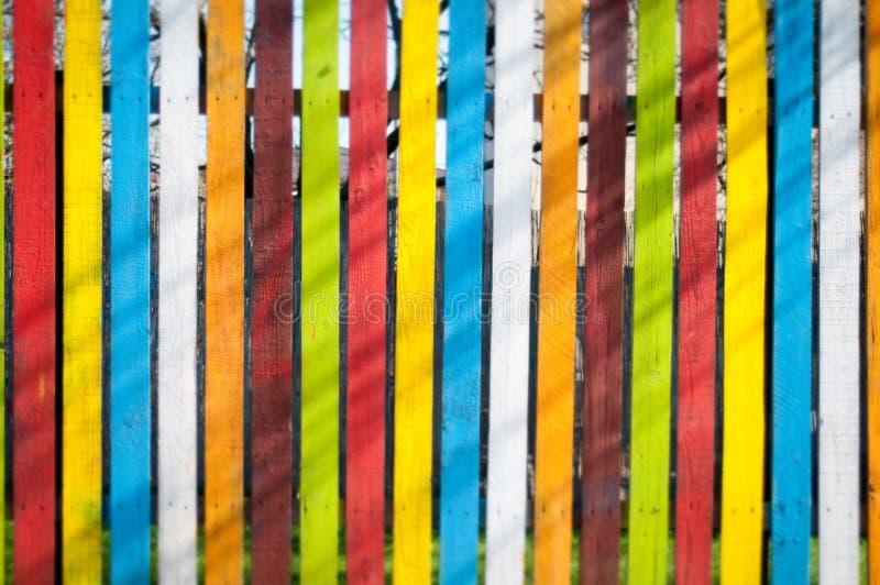 Struttura dipinta del recinto fotografie stock libere da diritti