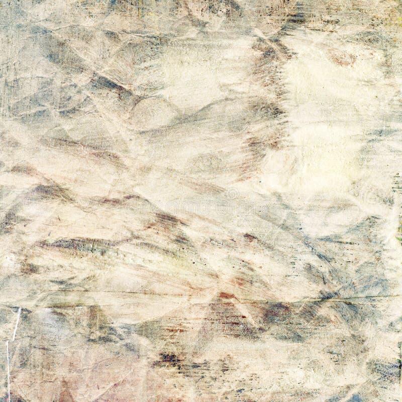 Struttura dipinta della carta di lerciume illustrazione di stock