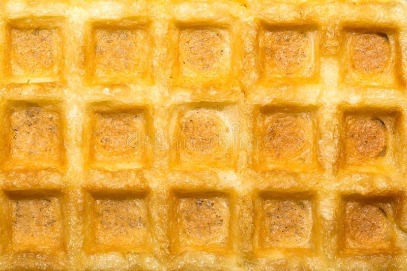 Struttura dolce delle cialde belghe del pane tostato fotografia stock libera da diritti