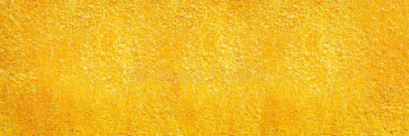 struttura dorata del cemento per il modello ed il fondo fotografia stock libera da diritti