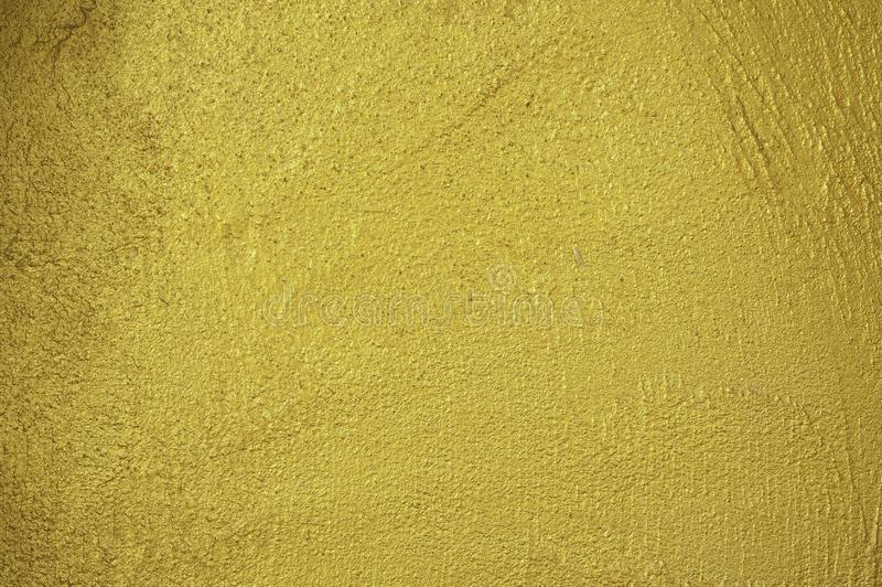 Struttura dorata della parete fotografie stock