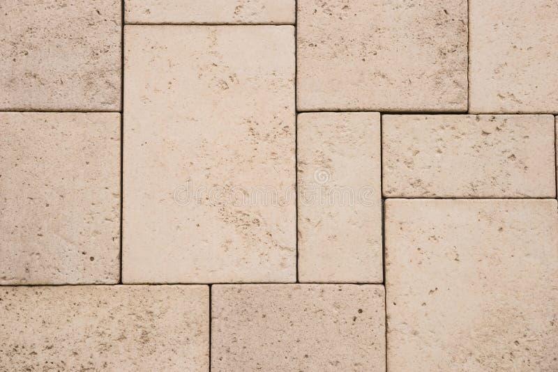 struttura e fondo della parete delle mattonelle dell'arenaria immagine stock