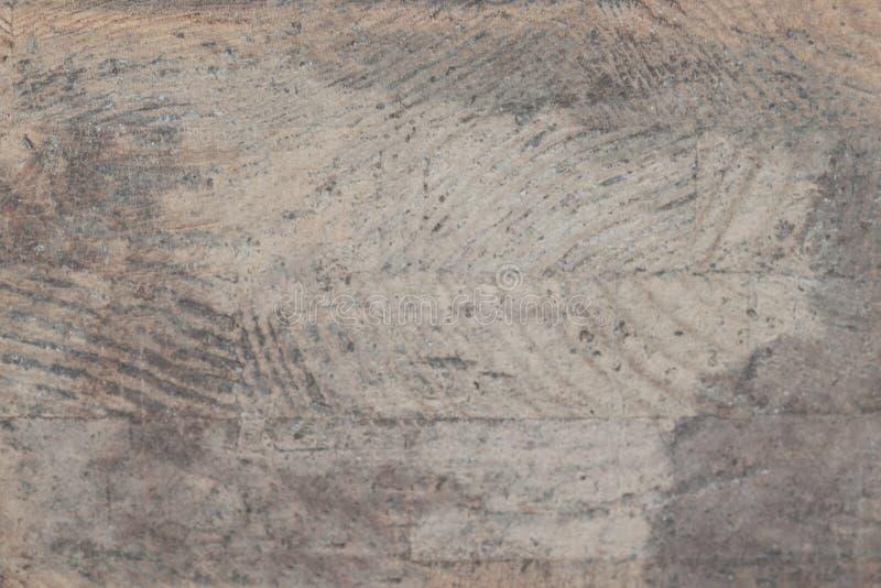 Struttura e superficie di legno grige annodate naturali della plancia W stagionato immagini stock