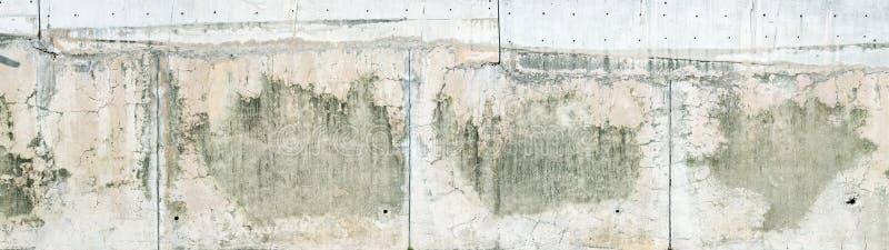 Struttura esposta all'aria del muro di cemento immagini stock